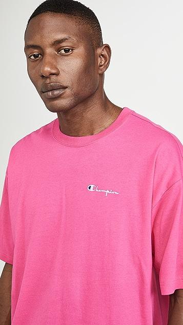 Champion Premium Reverse Weave Crew Short Sleeve Tee