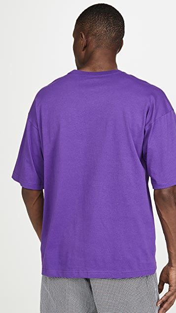 Champion Premium Reverse Weave Crew Neck Short Sleeve Tee