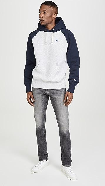 Champion Premium Reverse Weave Reverse Weave Colorblock Sweatshirt