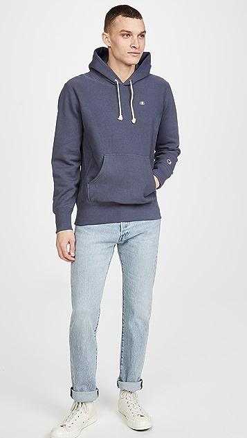 Champion Premium Reverse Weave Small Logo Hoodie