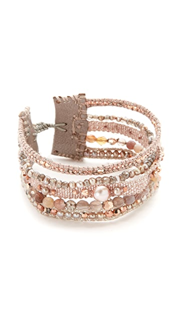 Chan Luu Adjustable Multi Strand Bracelet