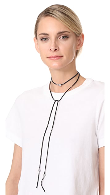 Chan Luu Freshwater Cultured Pearl Wrap Necklace