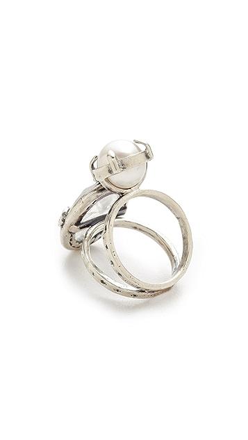 Chan Luu Double Stone Ring