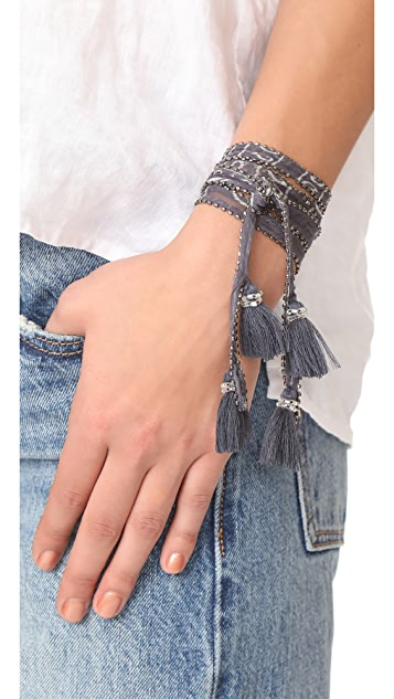 Chan Luu Skinny Scarf Necklace