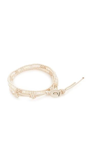 Chan Luu Double Wrap Bracelet