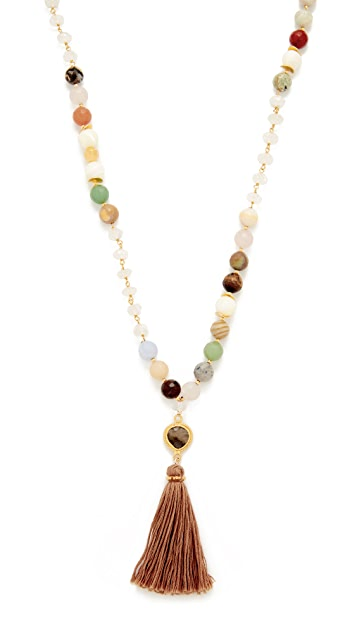 Chan Luu Tassel Necklace