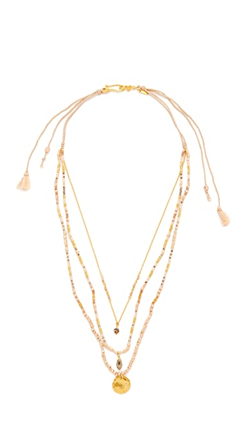 Chan Luu Multi Strand Necklace