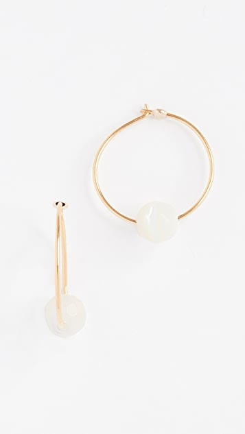 Chan Luu Circle Earrings