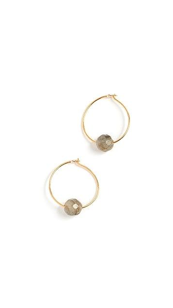 Chan Luu Circle Earrings
