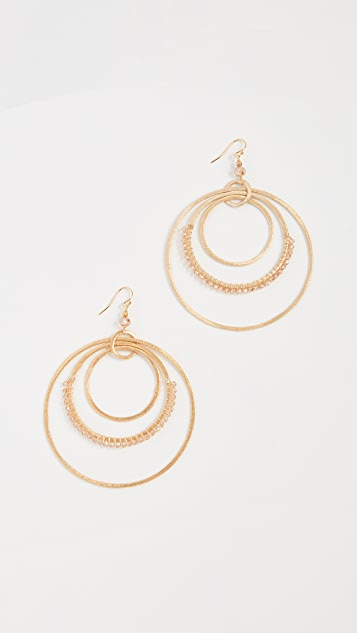 Chan Luu Sunflower Earrings