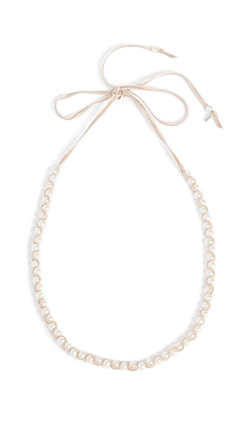 Chan Luu White Freshwater Cultured Pearl Necklace