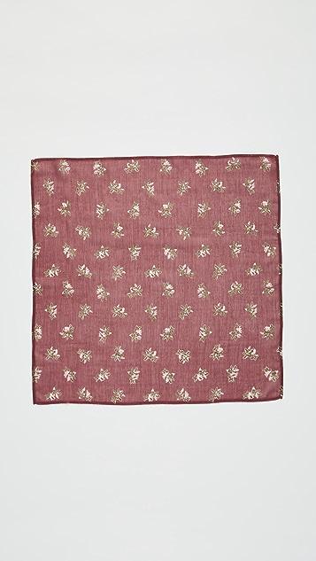 Chan Luu Vintage Floral Neckerchief