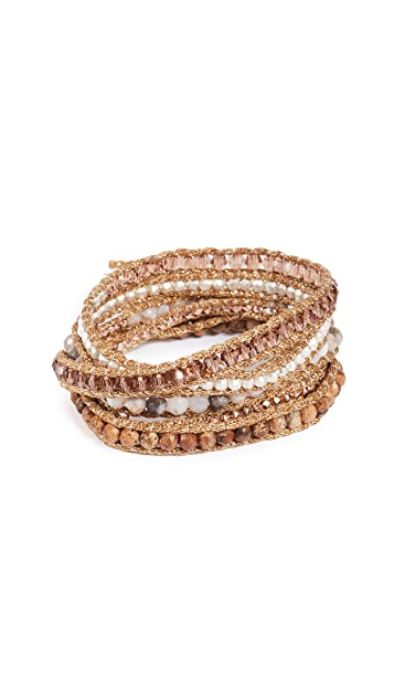 Chan Luu Ombre Wrap Bracelet