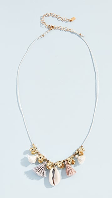 Shell Charm Necklace by Chan Luu