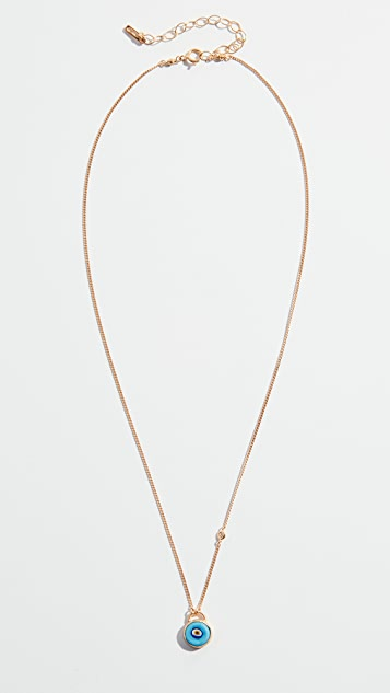 Chan Luu Evil Eye Necklace with Champagne Diamond