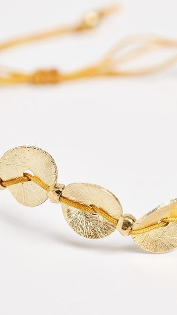 Chan Luu Sequins & Cowry Shell Bracelet