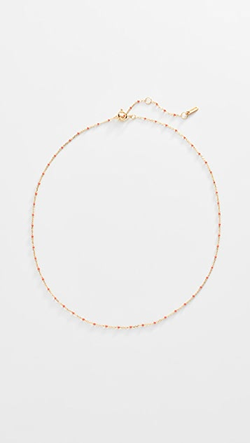 Chan Luu Peach Short Necklace