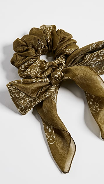 Neckerchief Scrunchie by Chan Luu