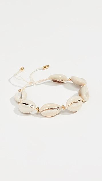 Chan Luu Adjustable Cowry Shell Bracelet