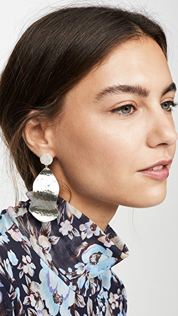 Chan Luu Hammered Metal Earrings