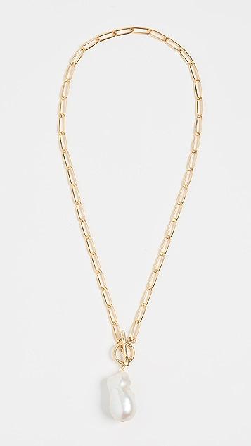 Chan Luu 白色珍珠项链