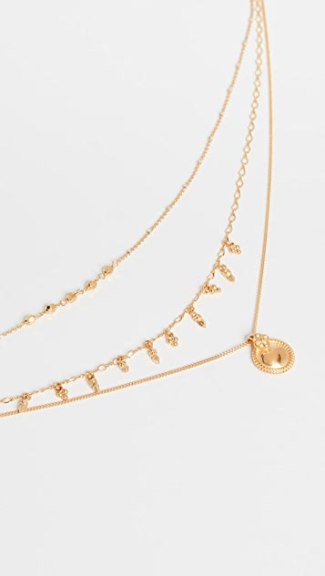 Chan Luu Yellow Gold Necklace