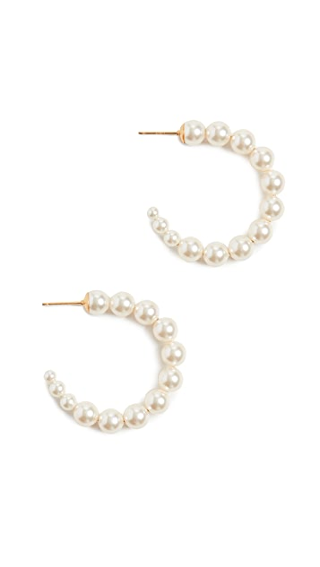 Chan Luu Cream Pearl Earrings