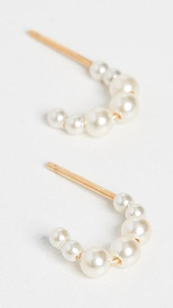 Chan Luu Cream Pearl Earrings