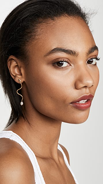 Chan Luu Snake Earrings