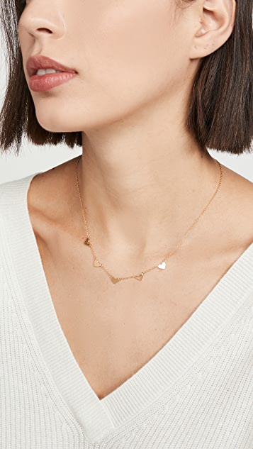 Chan Luu Gold Heart Necklace