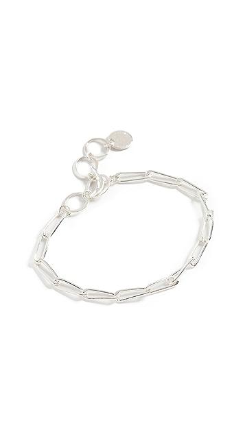 Chan Luu 银色链条手链