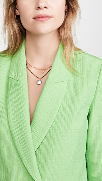 Chan Luu Pearl Shell Necklace