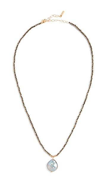 Chan Luu Pyrite Necklace