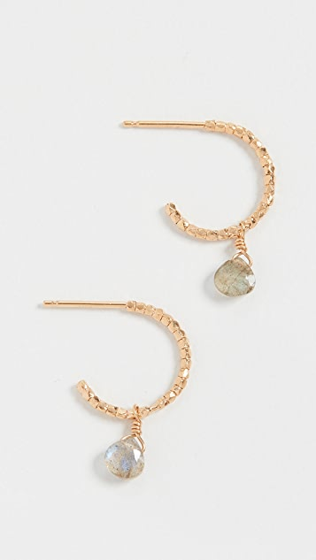 Chan Luu Labradorite Drop Earrings