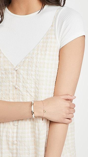Chan Luu Enamel Dot Bracelet