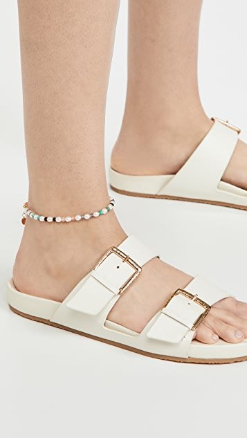 Chan Luu Pearl Beaded Anklet