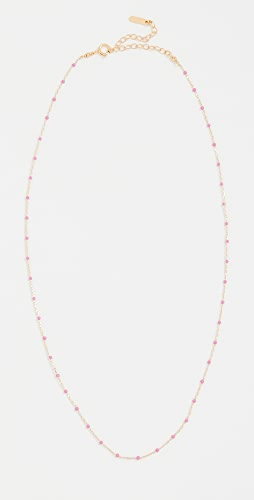 Chan Luu - 珐琅饰珠项链