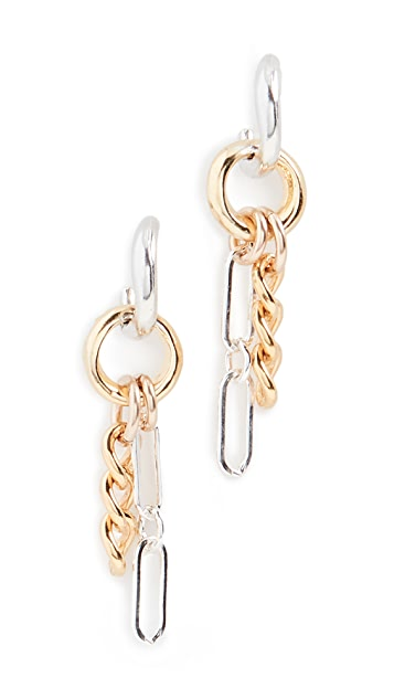 Chan Luu Chain Link Earrings