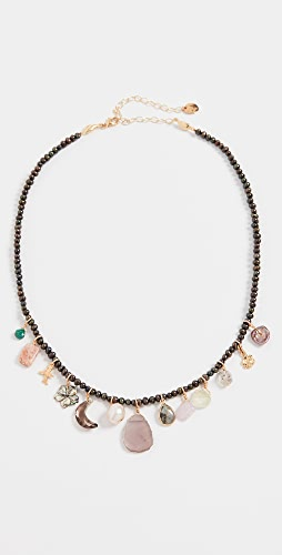 Chan Luu - Peacock Pearl Necklace