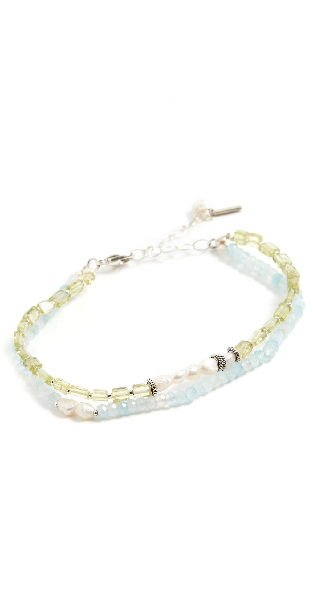 Aquamarine Santi Bracelet