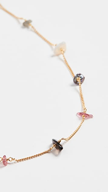 Chan Luu Mixed Stones Necklace