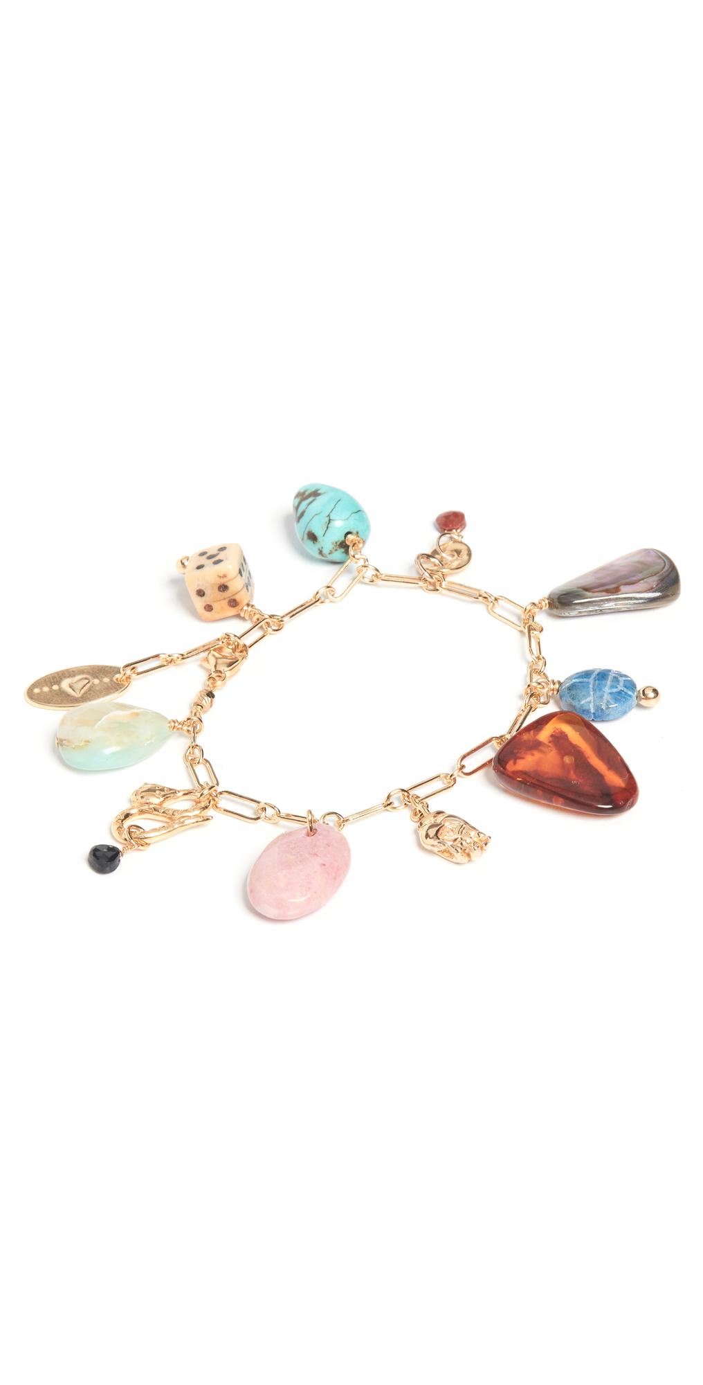 Multi Mix Charm Bracelet