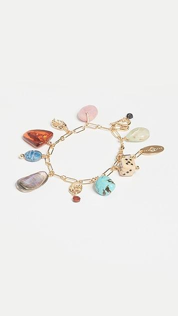 Chan Luu Multi Mix Charm Bracelet