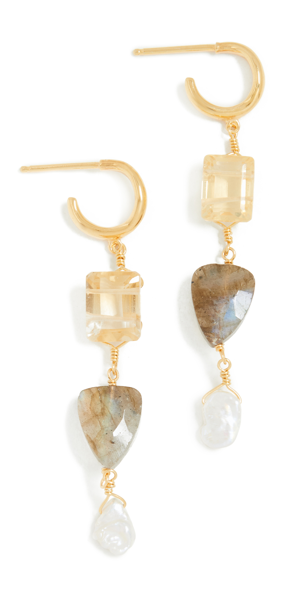 Arrowhead Drop Earrings