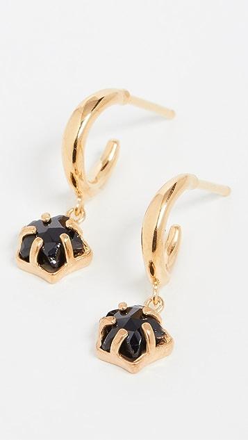 Chan Luu Star Charm Drop Earrings