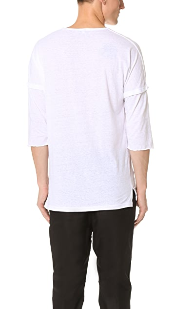 Chapter Stalt 3/4 Sleeve Tee