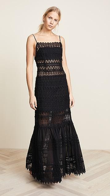 Charo Ruiz Grace Dress - Black