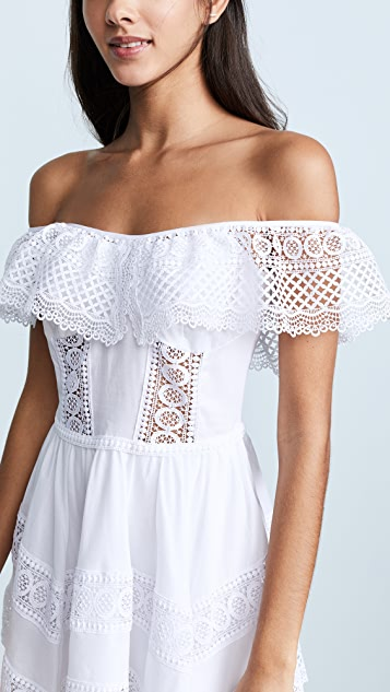Charo Ruiz Платье Vaiana с открытыми плечами