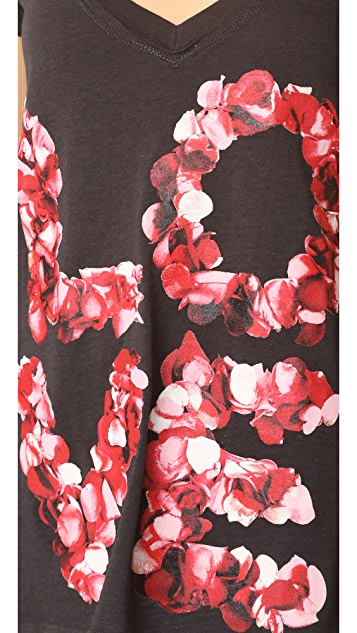 Chaser Rose Petals Love Tee