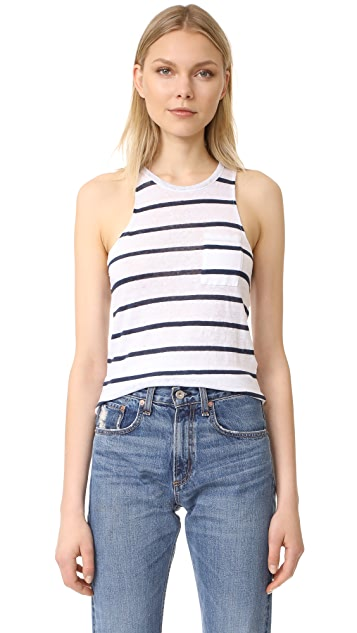 Chaser Pocket Shirttail Muscle Tank